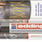 Глянцевый маркер Edding 750, лаковый, 2-4 мм, блистер, черный фото