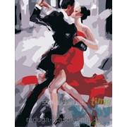 Картина-мозаика стразами Танец страсти 40х50 см фото