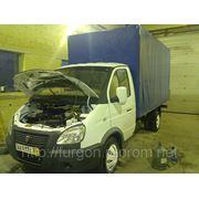Переоборудование ГАЗ 322132 в 330202 с тентом и воротами фото