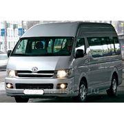 Пассажирские перевозки Toyota Hiace (11 мест) фото