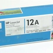 Картридж HP LJ 1010/1012/1015 (Q2612A) черный 2k фото
