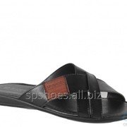 Сабо мужские 369-1023, черный фото