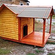Будка для собаки №8 (Размер 1.2*2*1.5 м) фото