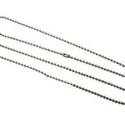 Цепочки металлические для бейджей фото