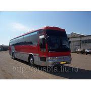 Заказ, аренда автобуса Hyundai Аэро Квин 45 мест с кондиционером, TV+DVD фото