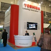Стенд компании TOSHIBA фото