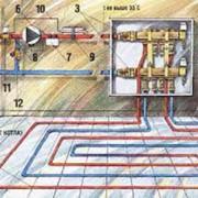 Установка систем регулирования тепловой энергии фото