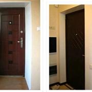 Отделка дверных откосов фото