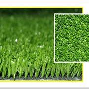 Искусственная трава для гольфа и декоративного озеленения высота ворса 10-12 мм Фибриллированная фото