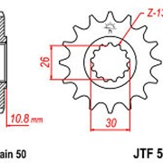 ЗВЕЗДА JT JTF579-18 фото