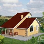Проекты двухквартирных домов фото