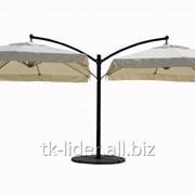 Консольный зонт двухкупольный ХXL фото