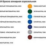 Краска-спрей Ultima, черный матовый, 520мл/RAL9005, 008 /12/ фото