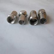 Коннекторы F 56 на кабель RG-6 резьбовой и обжимной фото