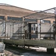 Ремонт сдвижных крыш, сборка и сварка каркасов фото