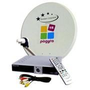 Установка комплекта спутникового телевидения Радуга-ТВ фото