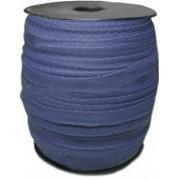 Тесьма х/б 10мм т Синяя Код товара 23259 фото