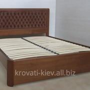 """Деревянная кровать """"Диана"""" с ящиками для белья фото"""
