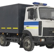 Автомобиль специальный для лиц, находящихся под стражей ЛЮБАВА АЗ 4570 фото