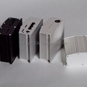 Производство приборных корпусов из алюминиевого профиля фото