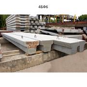 Балки фундаментные 4БФ6 фото