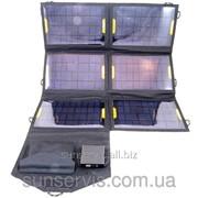 Солнечное зарядное устройство Atmosfera PETC-S21T, 21 Вт, черное фото