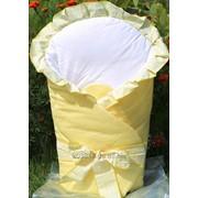 Конверт-одеяло для детей на выписку Milpol желтый фото