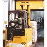 Скоростные автоматические ворота Dynaco оранжевые фото