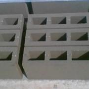Камень бетонный стеновой фото