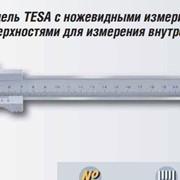 Штангенциркуль TESA с ножевидными измерительными поверхностями для измерения внутренних размеров фото
