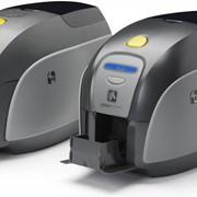 Принтер карт Zebra ZXP Series 1 (односторонний цветной, ISO HiCo/LoCo Mag S/W Selectable, USB, Ethernet) фото