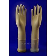 Хирургические латексные перчатки медицинские одноразовые UNIXFARM фото