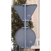 Крепления металлические для знаков дорожных. фото