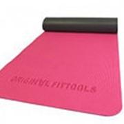 Коврик для йоги двуслойный 8 мм FT-YGM-DS08 фото