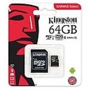 Карта памяти Kingston Canvas Select SDXC 64 ГБ Class 10 фото