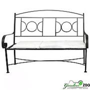 Кованый диван Рим фото