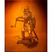 Сувенир голографический с подсветкой настольный Викинг фото