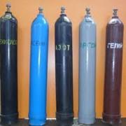Газы технические, предлагаем заправку баллонов техническими газами фото