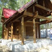 Покраска деревянных домов в Свердловской области фото
