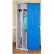Шкаф металлический одежный ШРЭК-21-500 фото