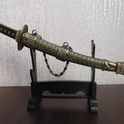 Меч японского самурая фото