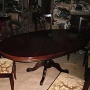 Комплект для гостинной стол+6 стульев фото