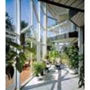 Сады зимние из металлопластика и алюминия фото