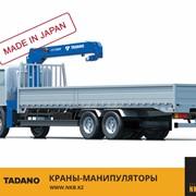 Крано-манипуляторные установки TADANO, в Алматы, в Казахстане фото