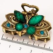 Краб (5 см.) бронзовый с цветными камнями 213276(19) фото