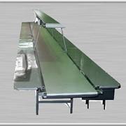 Горизонтальный ленточный конвейер для пищевых продуктов и фармацевтических препаратов ВВ-КГ-КИ-14 фото