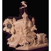 Накаминные часы Старый замок фото