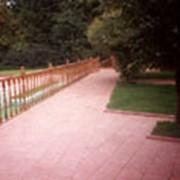 Укладка тротуарой плитки фото