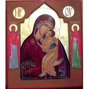 Икона Ярославская Божией Матери фото
