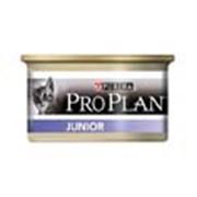 Корм Pro Plan Junior консервы мусс для котят с курицей фото